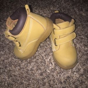 Baby work boots!